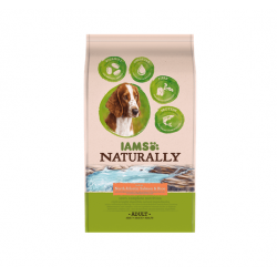 Iams Naturaly-Adult Salmon du North & Rice (1)