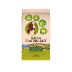Iams Naturaly-Adult Agneau New Zeland & Rice (1)