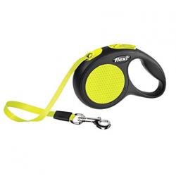 Flexi-Laisse Extensible Flexi Classic Neon pour Chien (1)