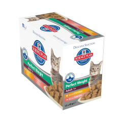 Hills-SP Feline Adult Perfect Weight (Boîte) (1)