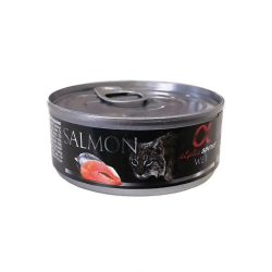 Alpha Spirit-Feline Adult Saumon 85 Gr Humide. (1)
