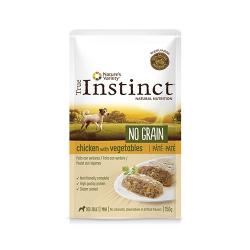 True Instinct-Instinc No Grain Poulet aux Légumes 150Gr Boîte (1)