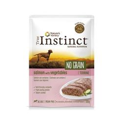 True Instinct-Instinc No Grain Medium Saumon aux Légumes 300Gr Boîte (1)