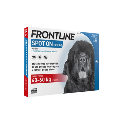 Frontline-40-60 kg Pipettes Antiparasitaires Chien (1)