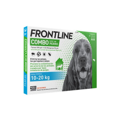 Frontline-Combo 10-20 kg Pipettes Antiparasitaires Chien (1)