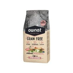 Ownat Just Grain Free-Adult poulet pour chat (1)