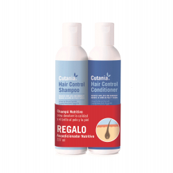 Vetnova-Shampooing Cutania Hair Control + APRÈS-SHAMPOOING CADEAU (2)