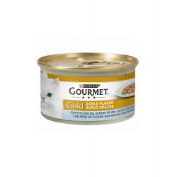 Gourmet Gold-Double Plaisir Poisson de l'Océan et Épinards (1)