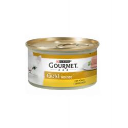 Gourmet Gold-Mousse au Poulet 85gr. (1)