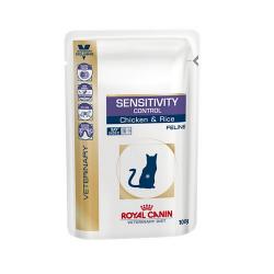 Royal Canin Veterinary Diets-Feline Sensitivity Control Sac 100gr (1)