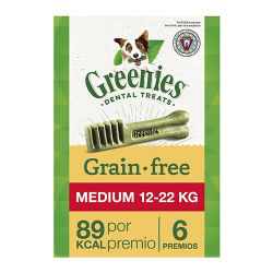 Greenie Pack Medium Grain Free pour Chien