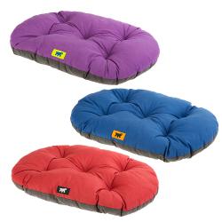 Cama Relax perro y gato Cushion Red Purple Blue Ferplast