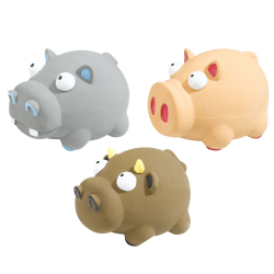 Juguete Perro Pa 5554 Latex Zoo Toy 3 unidades Ferplast