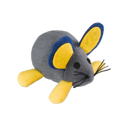Juguete Gato Pa 5007 Cloth Mouse With Spring 6 unidades Ferplast