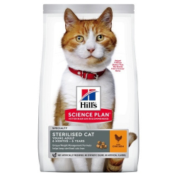 Hills-SP Feline Young Sterilised avec Poulet (1)