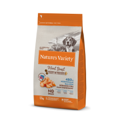 Nature's Variety pienso Meat Boost Salmón noruego