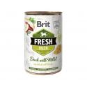 Brit fresh pato mijo latas para perro