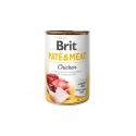 Brit pate meat pollo latas para perro