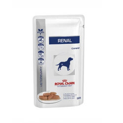 Royal Canin Veterinary Diets-Renal Humide Fines tranches en Gélatine 150 gr (1)